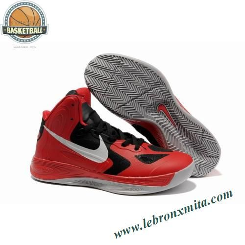 Nike Zoom Hyperfuse Low Jeremy Lin Shoes Red White Black