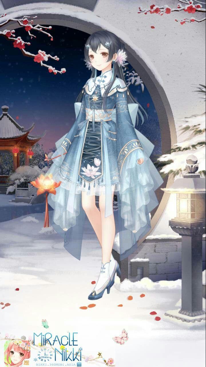 Nada Yang Segar Dan Cantik  Anime dress, Female character design