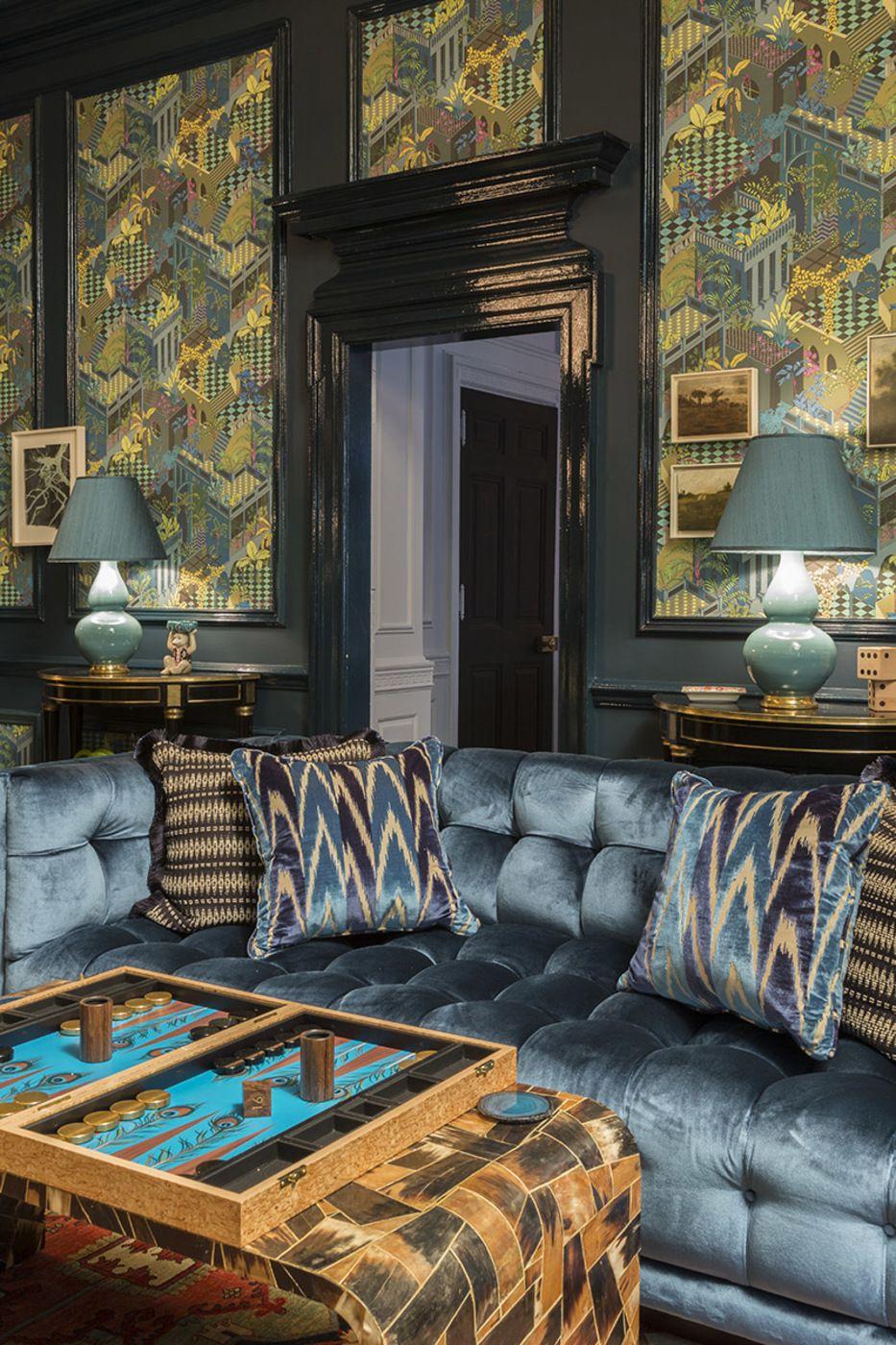 . Marks   Frantz Opulent Game Night Room   Home   Basement bar plans