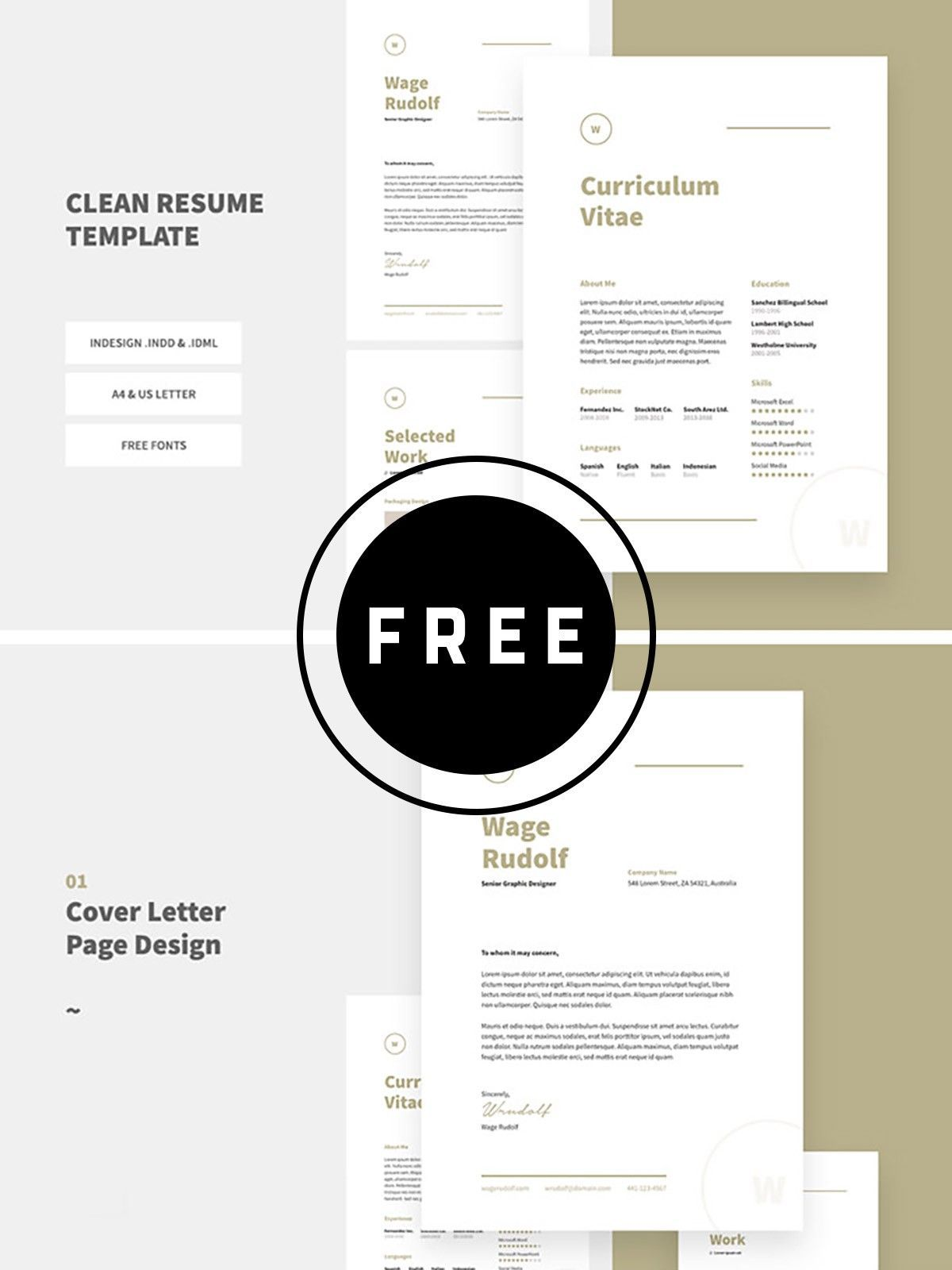 100 free best resume templates for 2019 C vita 100