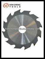 T.C.T circular grooving saw blade for cutinng wood