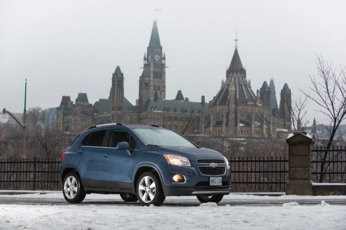The Chevrolet Trax Is Always Ready To Take On Snowy Roads Of