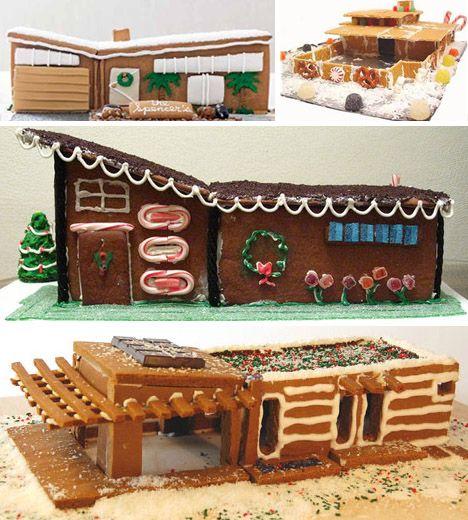 Gingerbread houses - MCM-style :) | Return of the Mac | Pinterest ...