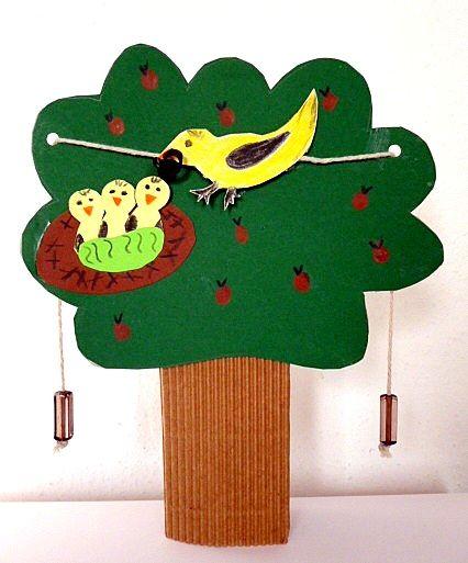 basteln vogel im apfelbaum jaro pinterest apfelbaum vogel und fliegende v gel. Black Bedroom Furniture Sets. Home Design Ideas