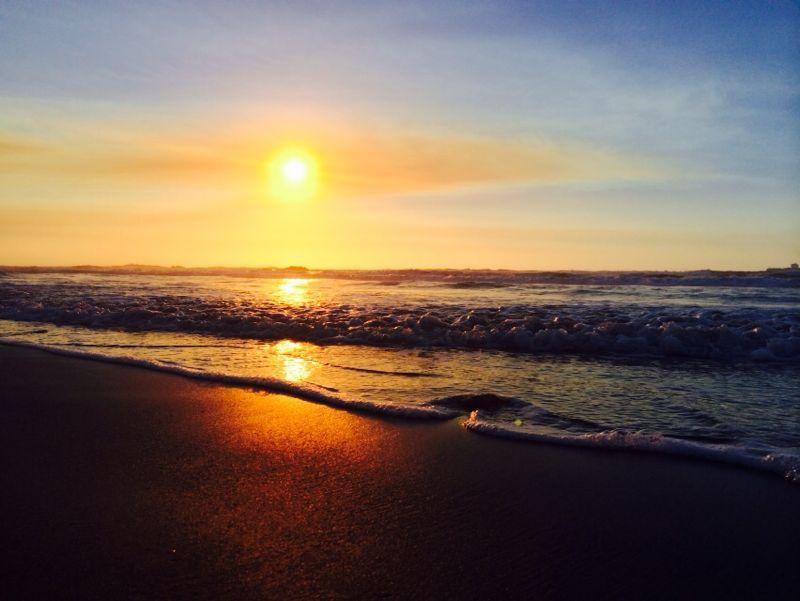 Puesta de sol.  Sunset