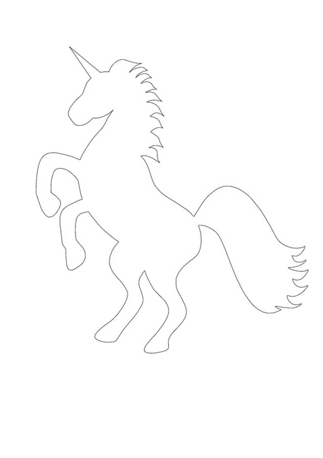 Unicorn Silhouette Coloring Pages Free Printable Coloring Free Printable Coloring Sheets Unicorn Coloring Pages
