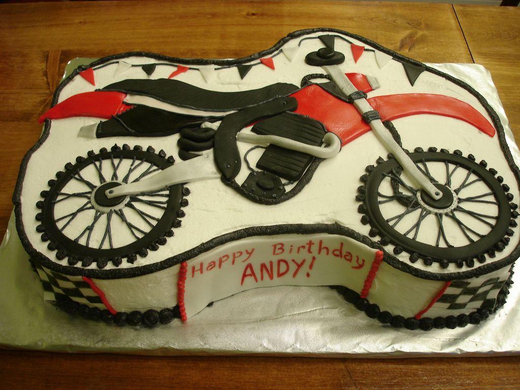 Dirt Bike Sheet Cake Dirt Bike Cakes Bike Cakes