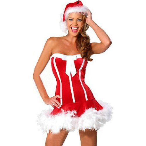 HOTER® Women's Sexy Secret Santa Costume/Mrs « Clothing Impulse