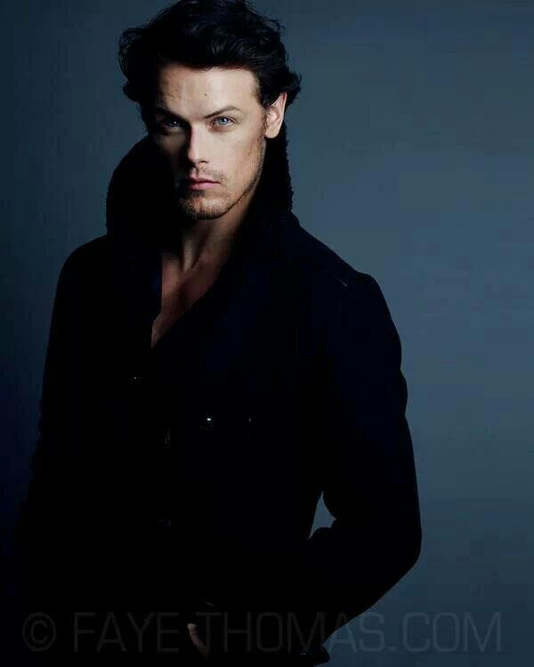 Words escape me... Sam Heughan, the actor who will play Jamie in Outlander.