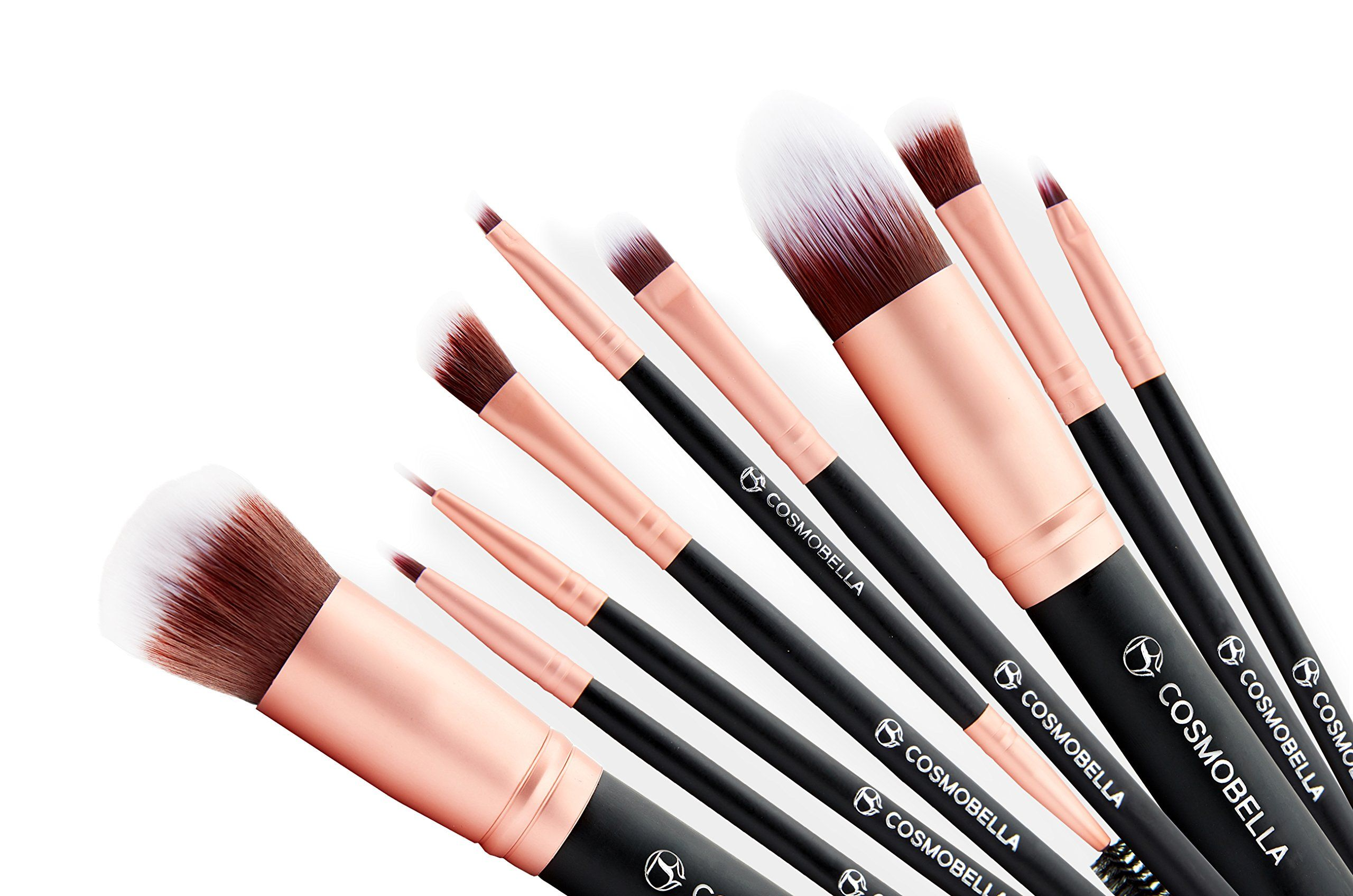 Cosmobella Premium Synthetic Kabuki Makeup Brush Set