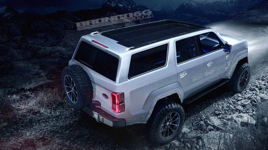 2020 Ford Bronco May Get New 7 Speed Manual Transmission Ford Bronco Concept Ford Bronco Ford Suv