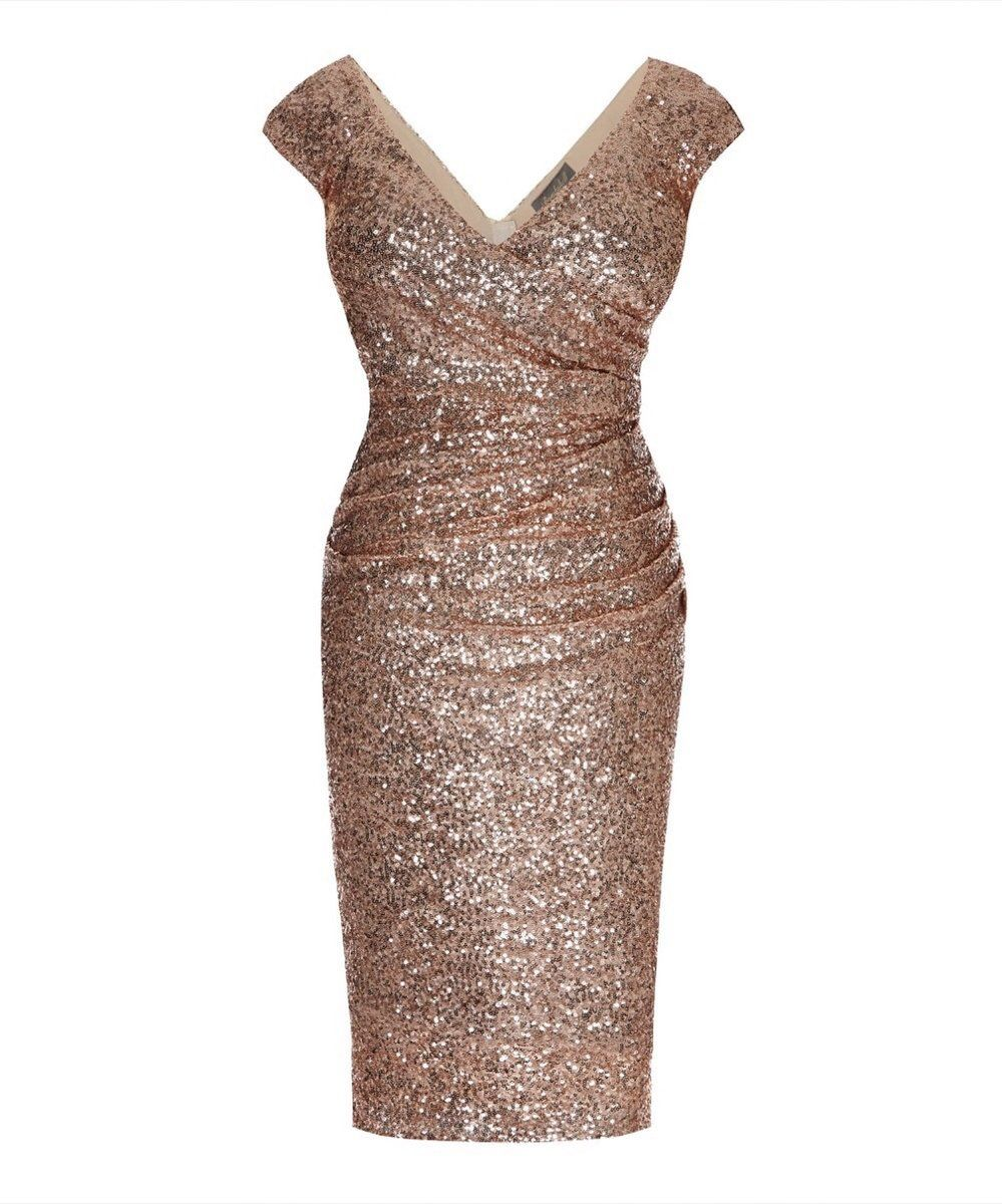 The Ultimate Cap Sleeve Rose Gold Sequin Cocktail Dress By Bombshellhq This Gorgeous Hollywoo Gold Cocktail Dress Cocktail Dress Classy Sequin Cocktail Dress [ 1200 x 999 Pixel ]