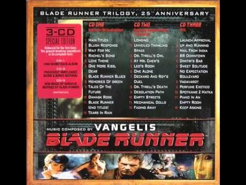 Youtube Vangelis Blade Runner Blade Runner Movie Soundtracks