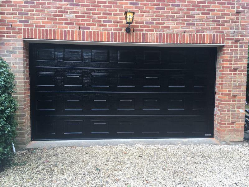 Hormann double sectional garage door swr redefining
