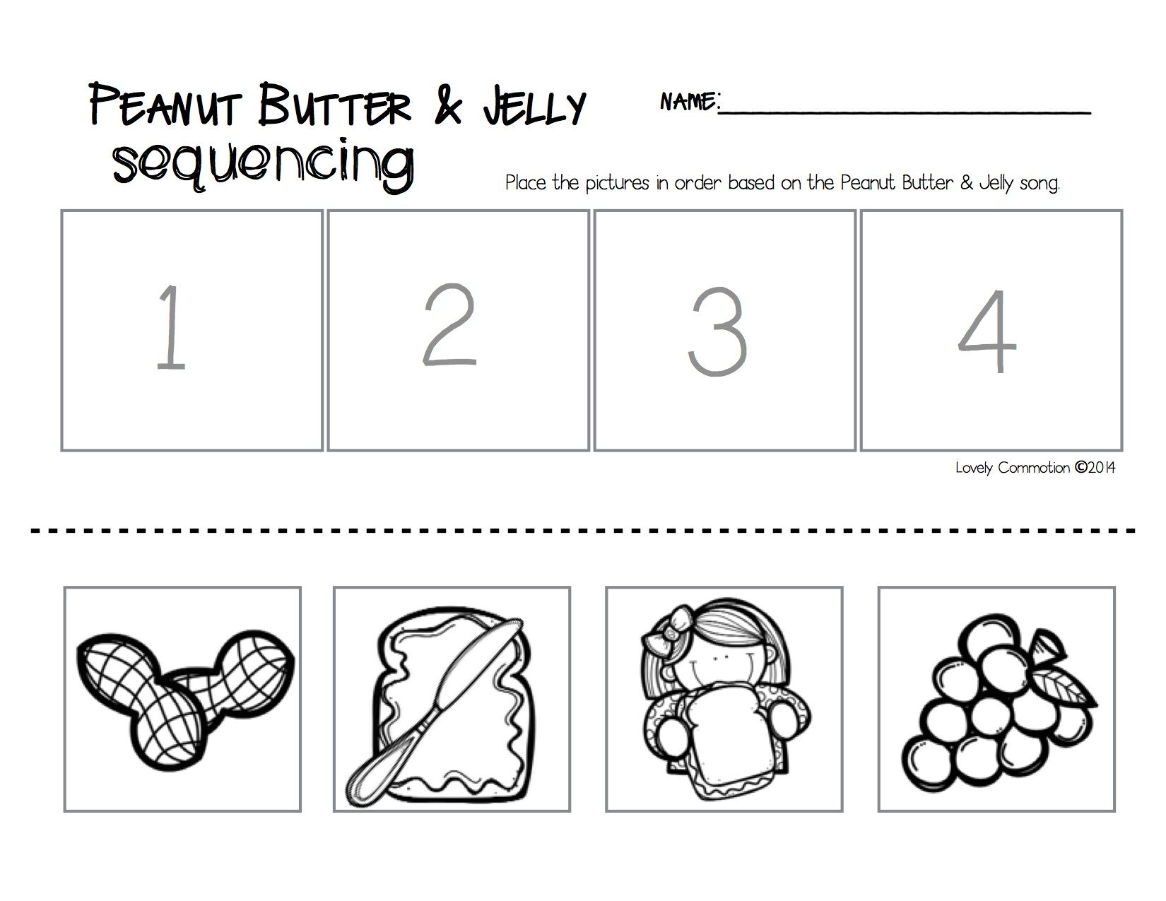 sequencing kindergarten worksheets Brandonbriceus – Sequencing Kindergarten Worksheets