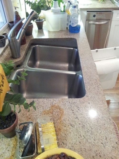 Undermount Kitchen Sink Coming Loose Undermount Kitchen Sinks Sink Undermount Sink