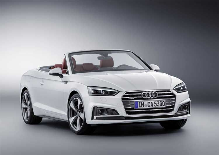 The New Audi A5 And S5 Cabriolet Shear Open Top Driving Pleasure