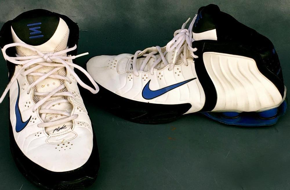 basketball shoes, White nike high tops