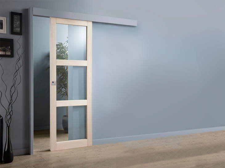Esconder el riel bajo la moldura cortinaje pinterest - Riel puerta corredera ...