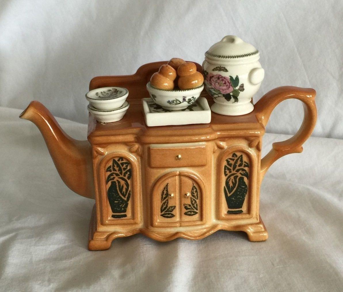 Portmeirion Botanic Garden Miniature Teapot, Botanic