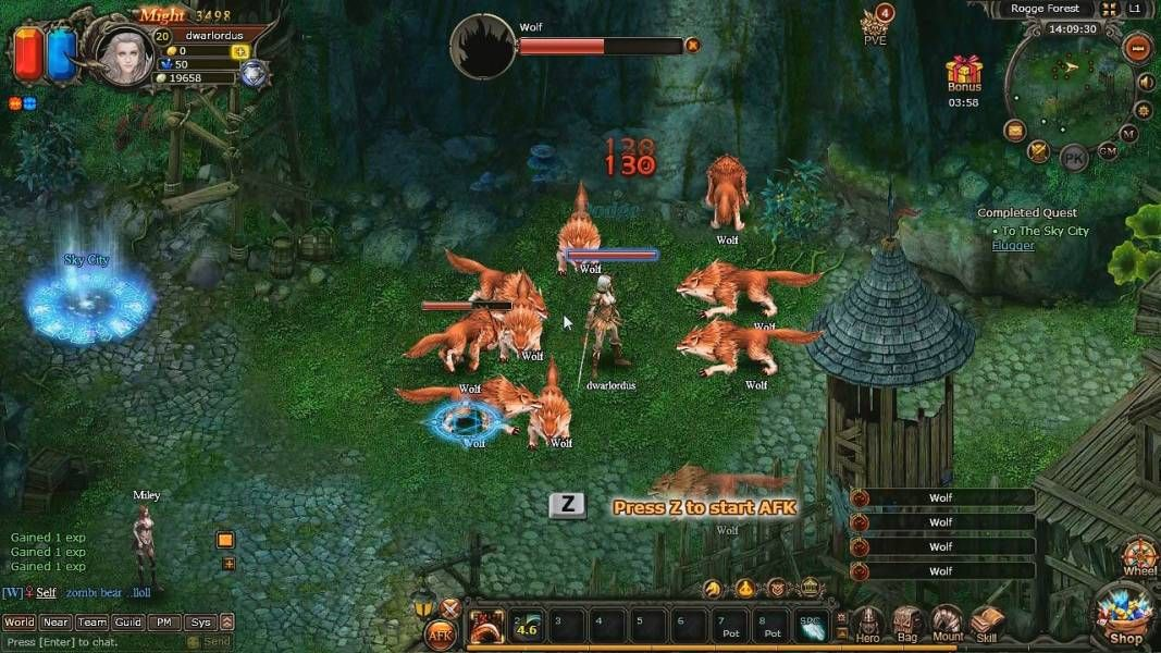 Glory of Gods (GOG) is a Browser Based, Free to play Role