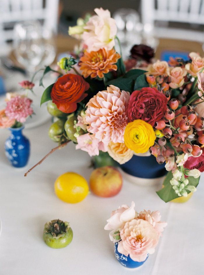 The perfect florals for that colorful wedding you are dreaming of!
