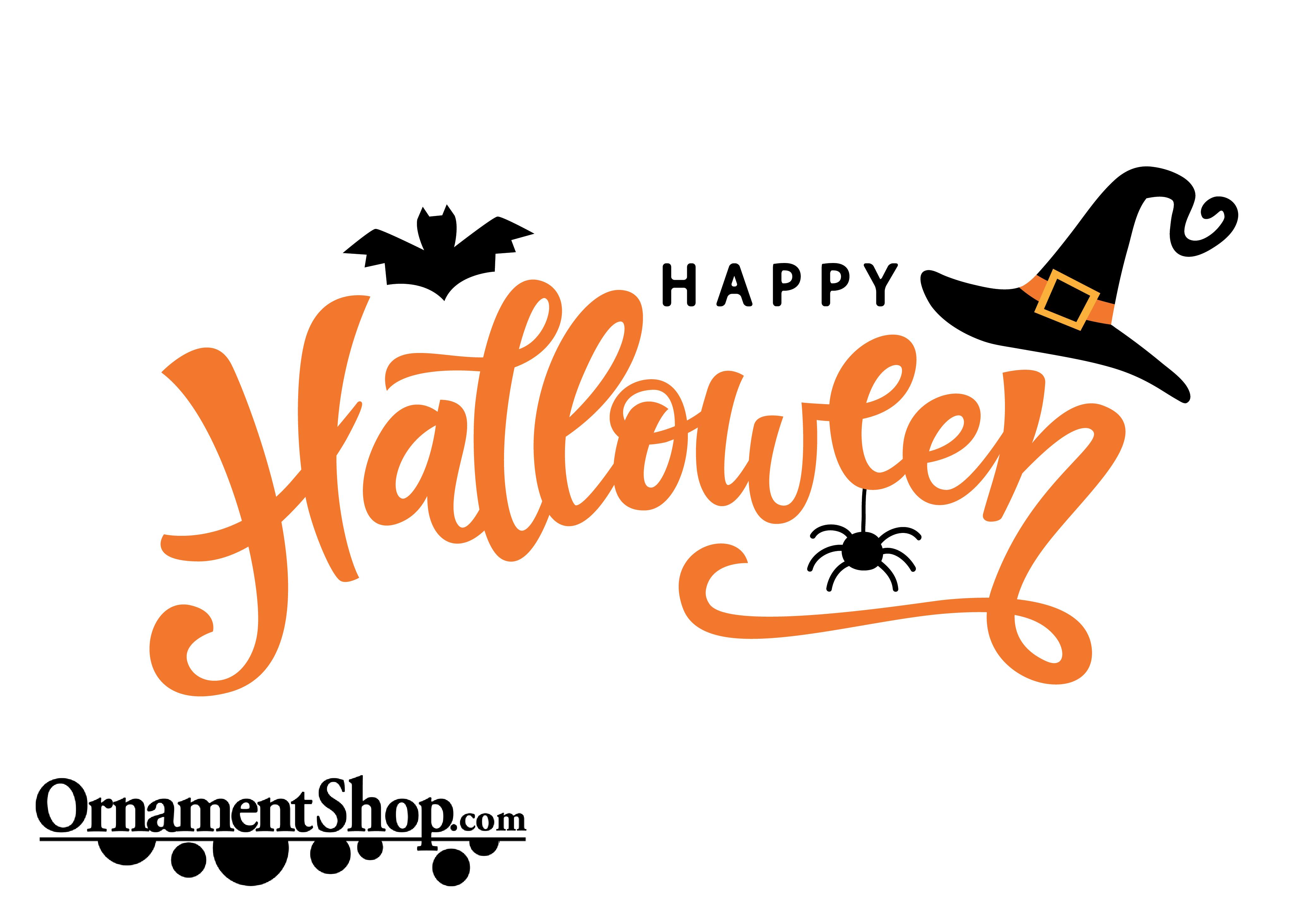 Happy Halloween Halloween Typography Halloween Text Halloween Pictures