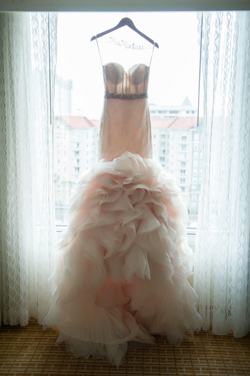 Glamorous Red and Blush Pink South Tampa Wedding  Pinterest