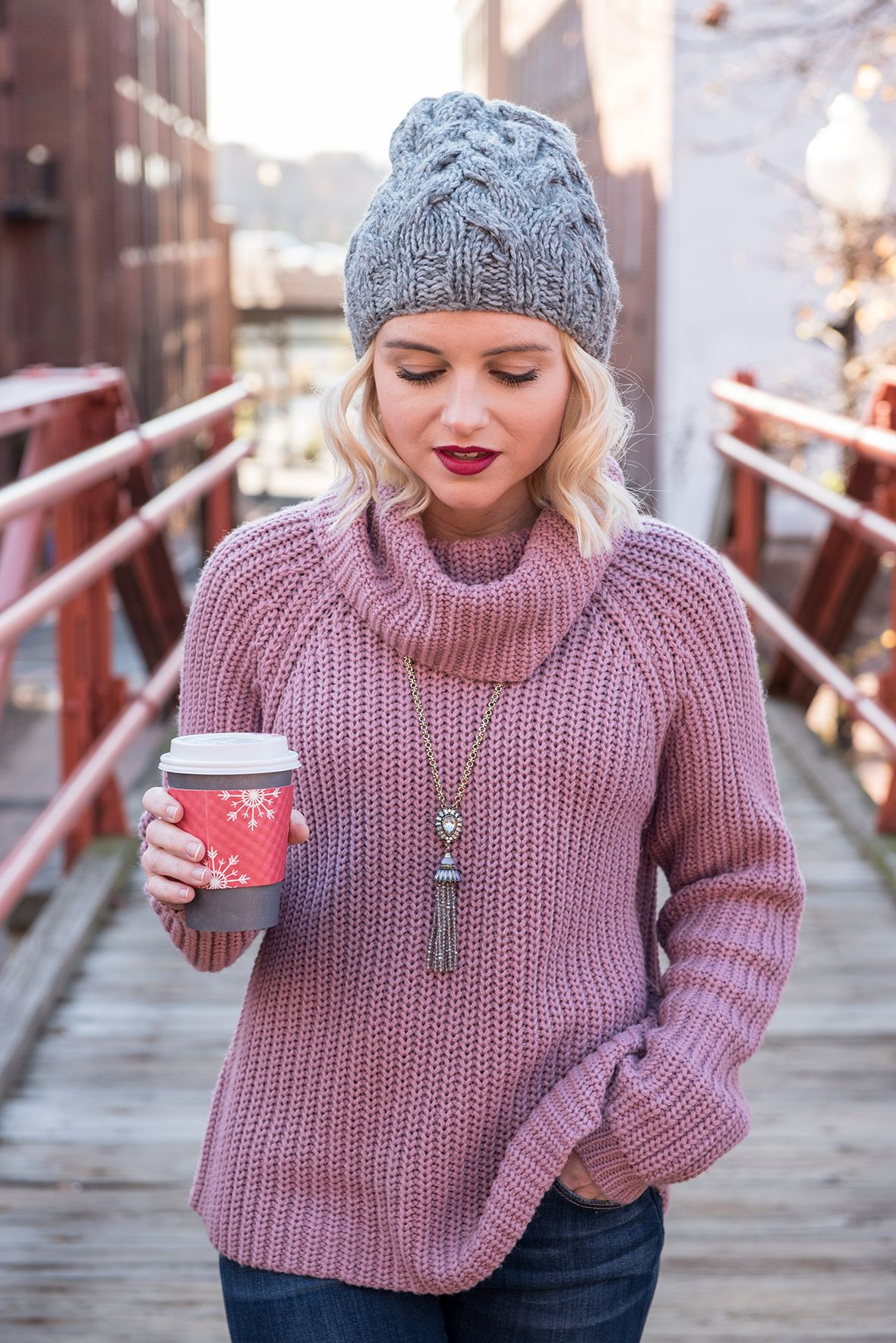 Poor Little It Girl - Purple Sweater - @poorlilitgirl | Poor ...