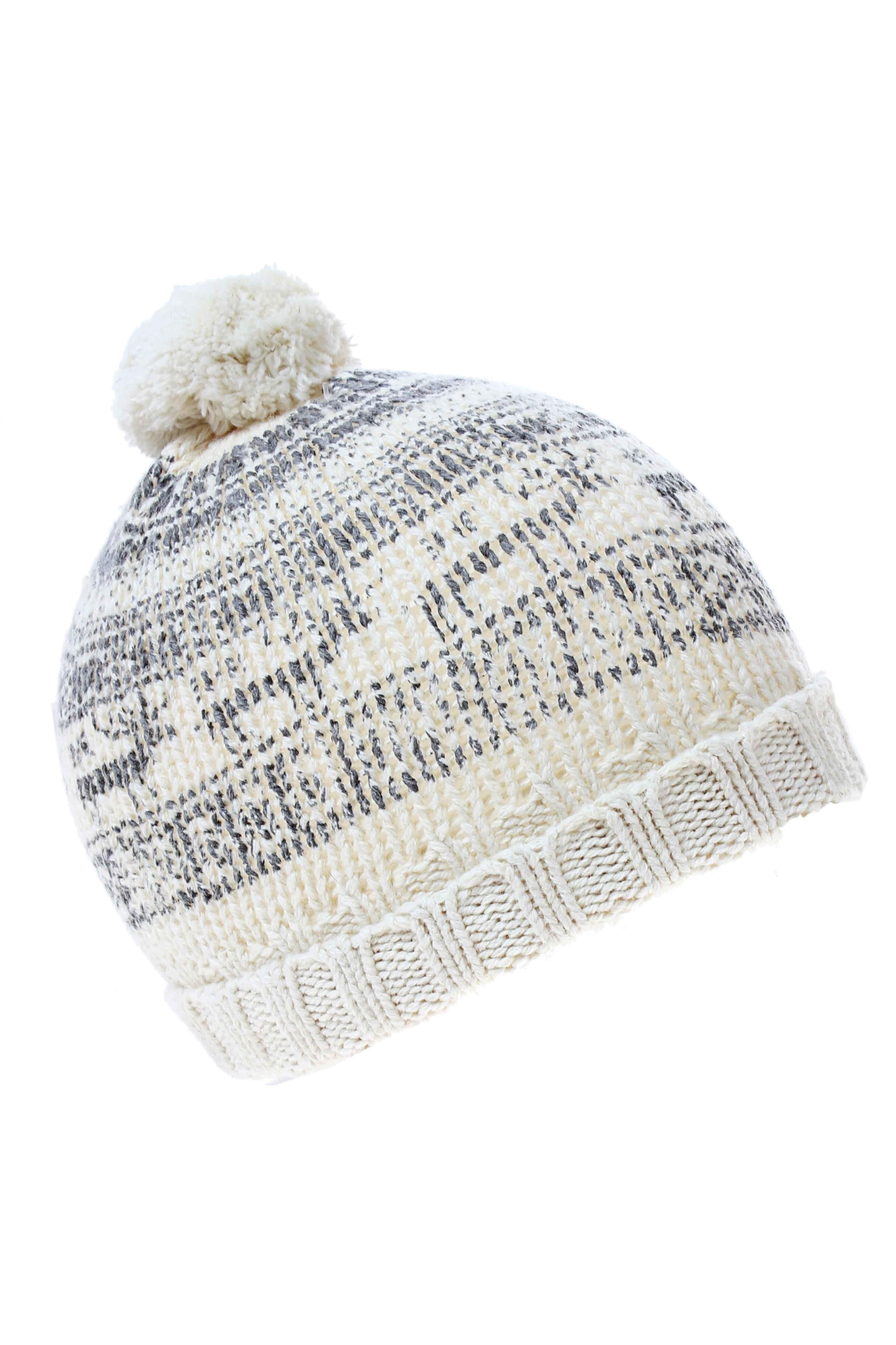 Accessoires Chapeaux Bonnets IKKS - couleur BEIGE - matiere Coton Laine ce563f0d36a
