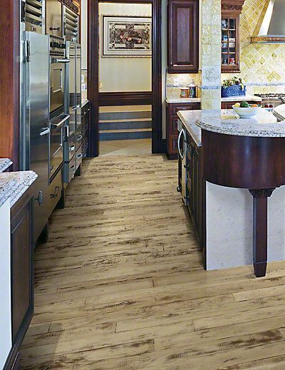 If rustic vintage is your style, consider this distressed hardwood flooring  from Anderson Floors - If Rustic Vintage Is Your Style, Consider This Distressed Hardwood
