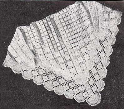 Free Knitting Patterns For Baby Blankets And Shawls : AWESOME VINTAGE PATTERNS OF ALL KINDS!!! Free Crochet ...