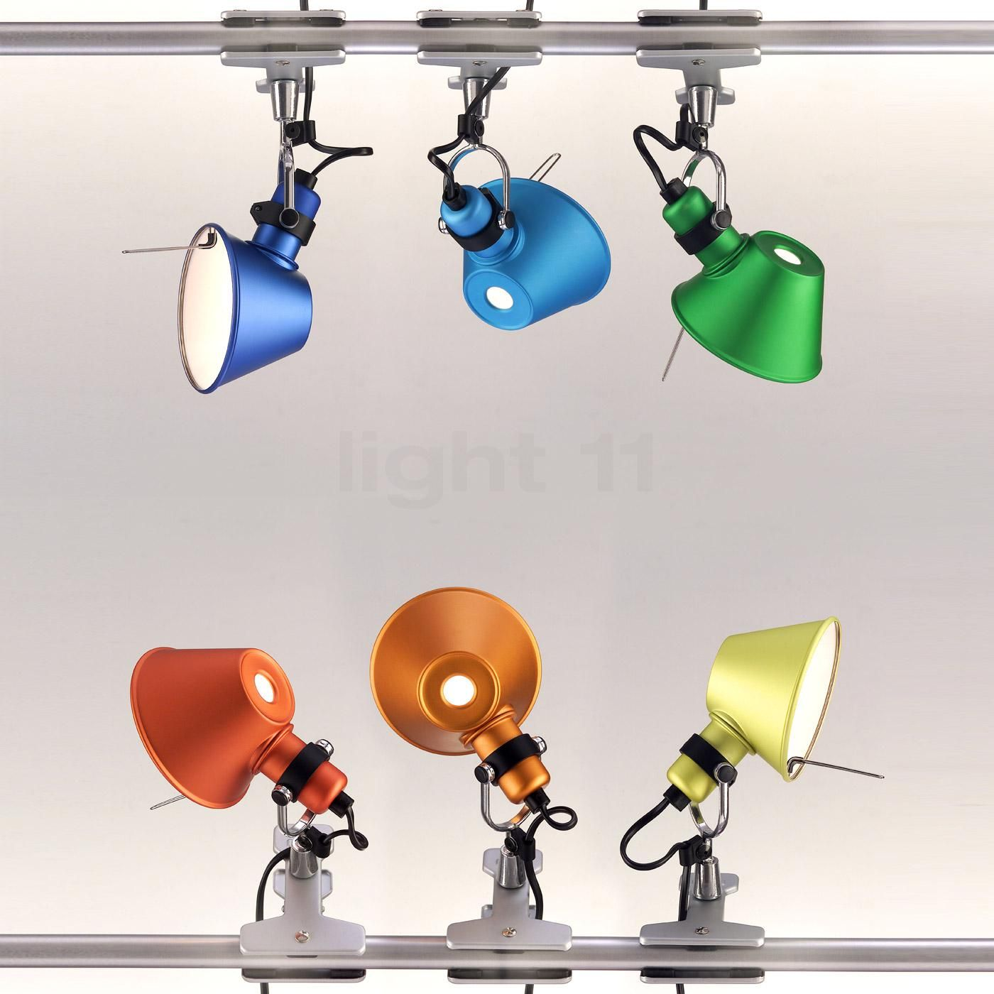 Tolomeo Micro Table Lamp Black By Artemide Black Table Lamps Office Lamp Design Lamp