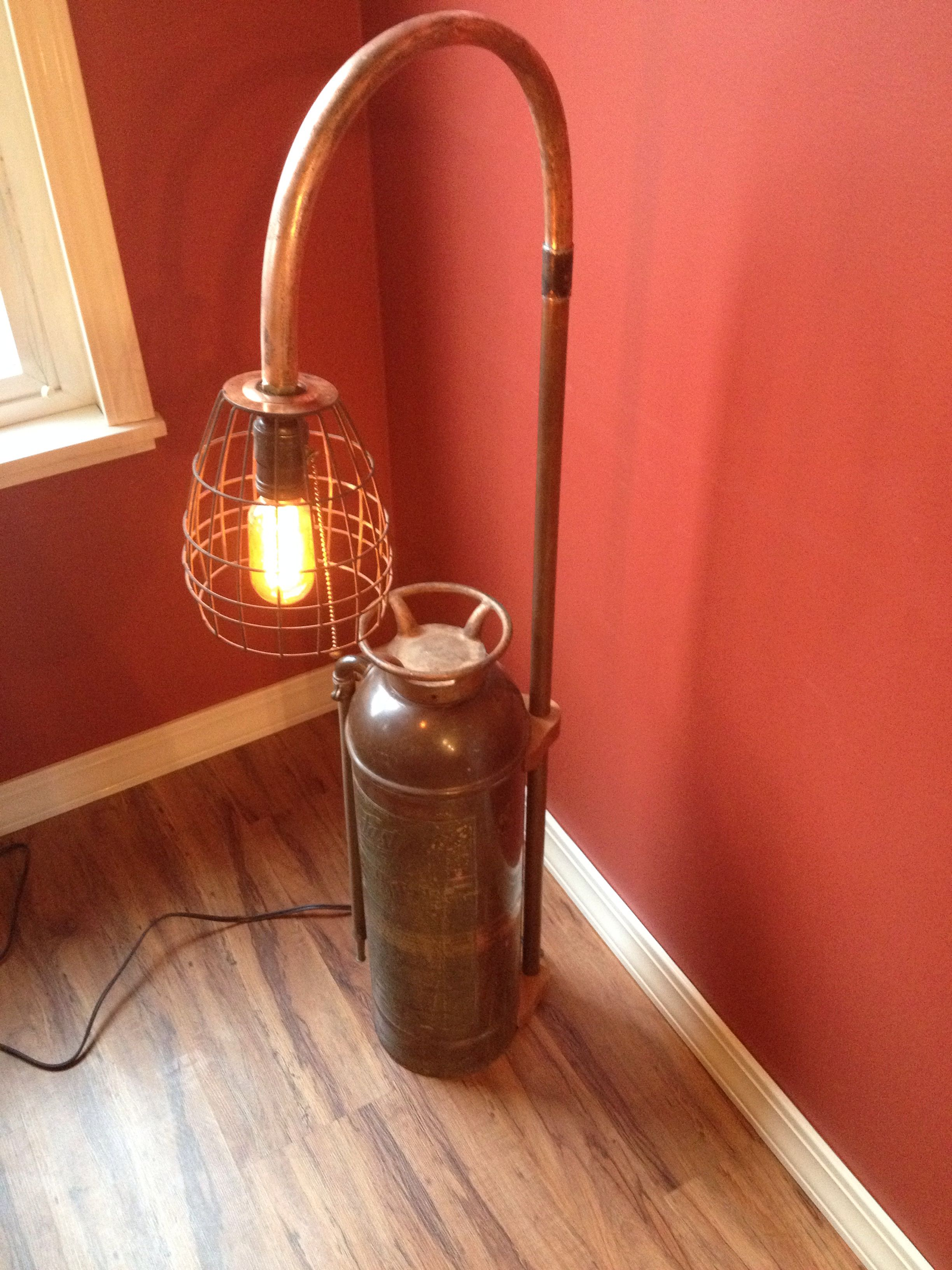 Fire Extinguisher Lamp My Lamps Pinterest Fire