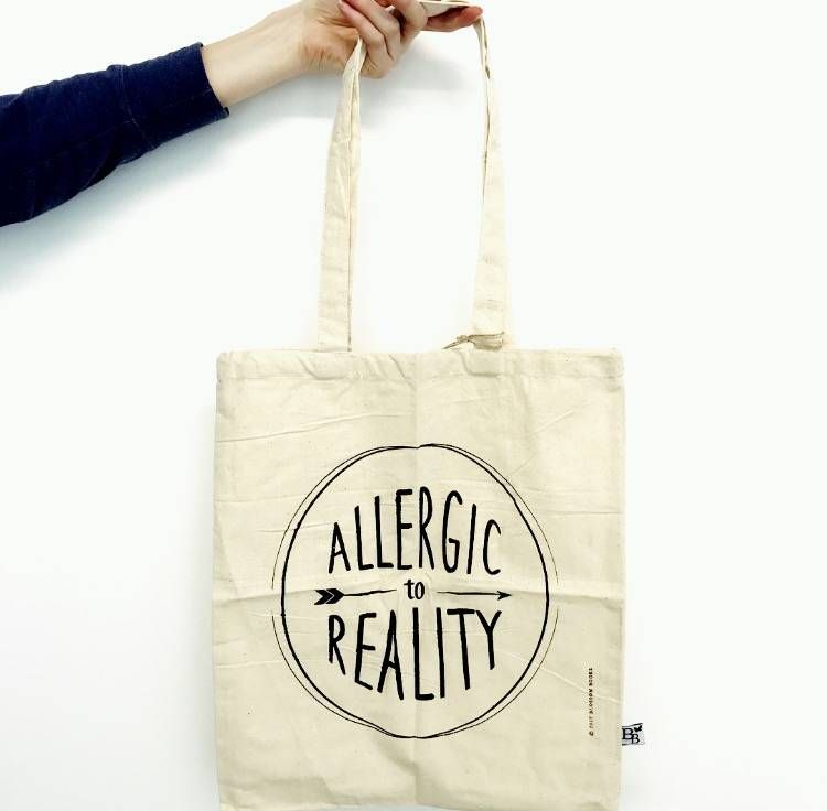 52b35041d8 Blossom Bag  Allergic to reality - Spread the book love