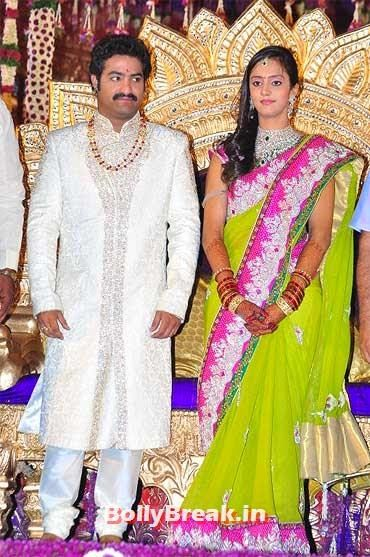 Ntr Jr And Lakshmi Pranathi Tollywood Marriage Pics South Indian Marriage Pics Of Actresses Actors P Indian Marriage Dress Indian Marriage Marriage Dress