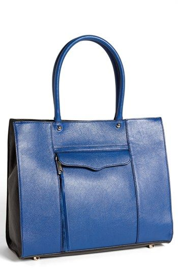 61c785644d Rebecca Minkoff 'M.A.B. - Medium' Colorblock Tote available at #Nordstrom,  $300, LABELED MED, I CONSIDER LARGE