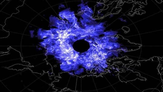 رصد غيوم زرقاء غامضة لا تظهر إلا في ليالي الصيف الدافئة Clouds Cloud Drawing Cloud Lights