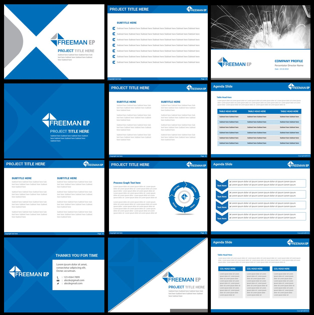 Designs For Powerpoint Free: Corporate Powerpoint Template Design