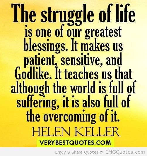 essay on lifes a struggle Browse struggle quotes and famous quotes about struggle on searchquotescom.