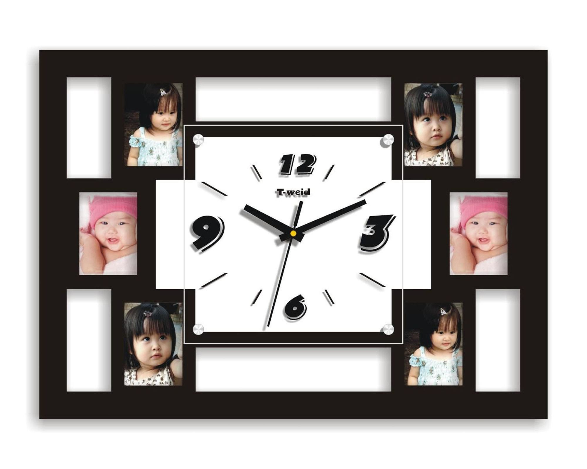 Picture frame wall clock products pinterest products picture frame wall clock jeuxipadfo Images