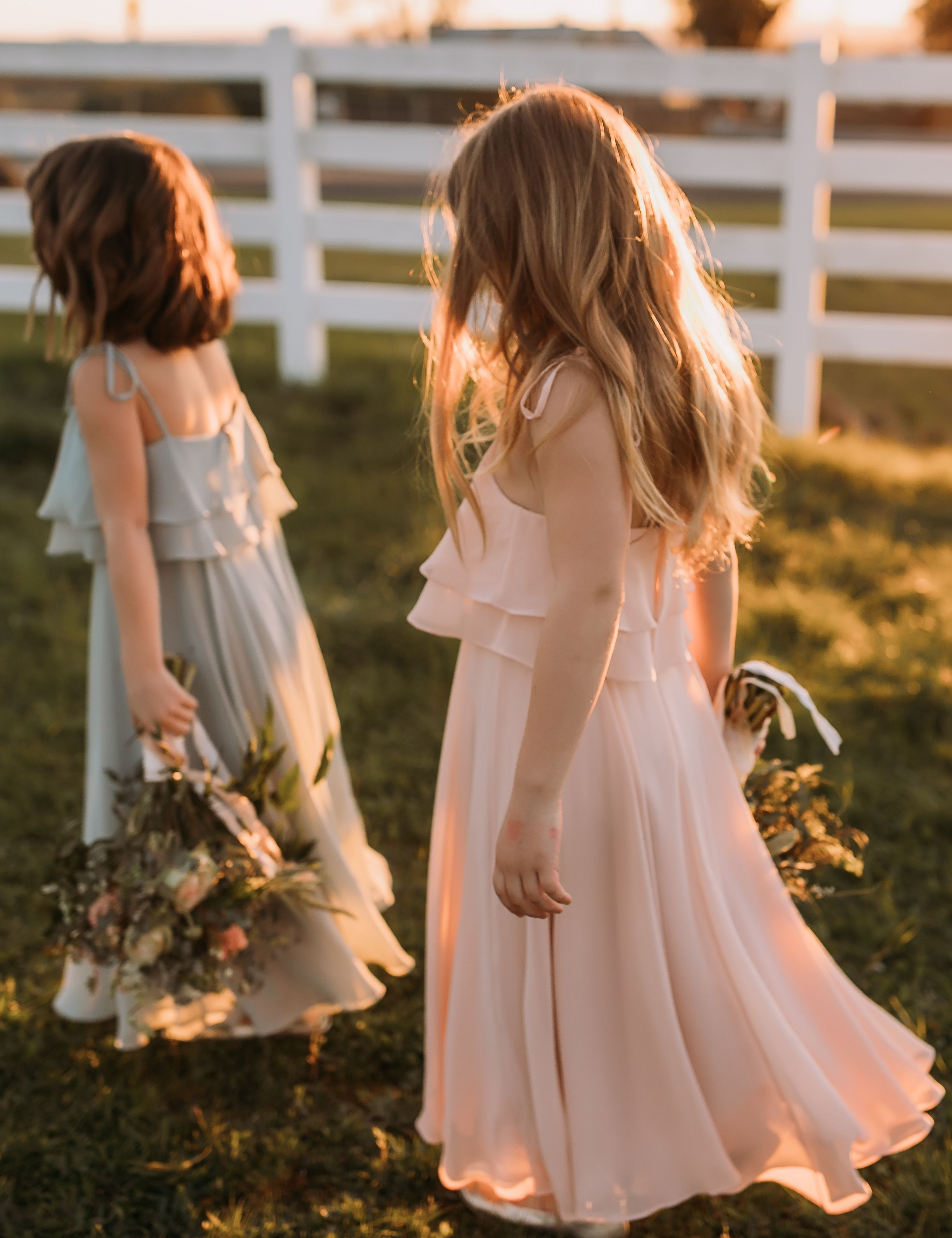 Penny Flowergirl Dress In Chiffon By Jenny Yoo With Images