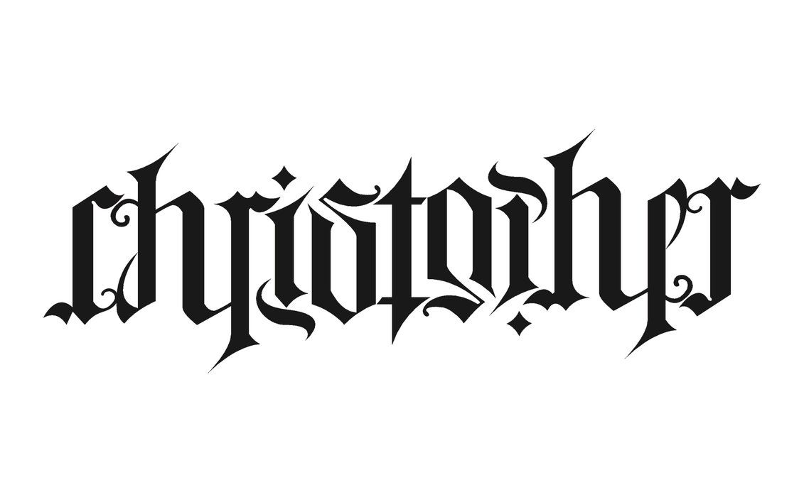 Gallery for ambigram tattoo designs names