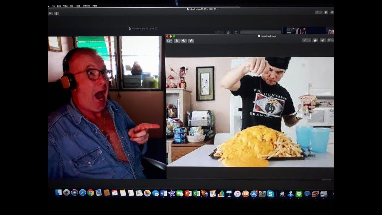 Matt Stonie Chili Cheese Fries 10,000 Calories Reaction