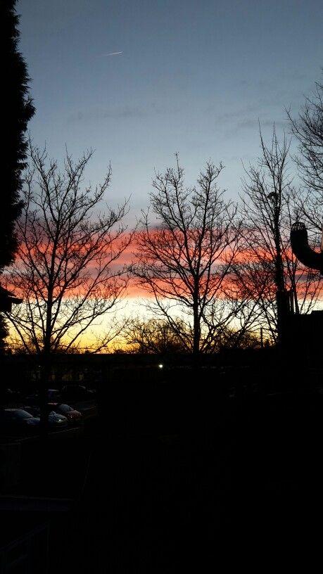 Colourful evening sky <3