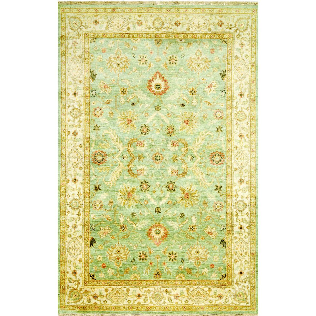 Jaipur Living Hand Knotted Pattern / Ivory Area Rug