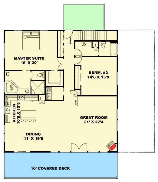 Plan 35513GH: Three Bedroom Carriage House Or Mountain