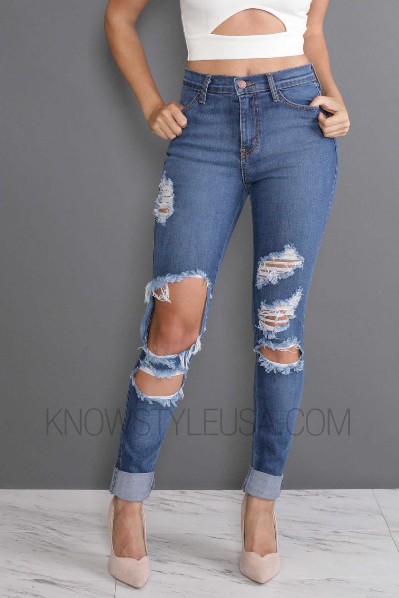 Feelin That Way Jeans Ripped Jeans Outfit Ripped Jeans Ripped Skinny Jeans