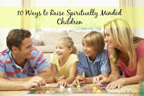 10 Ways to Raise Spiritually Minded Children; post 7 in series. Includes a list of great biographies to read with children