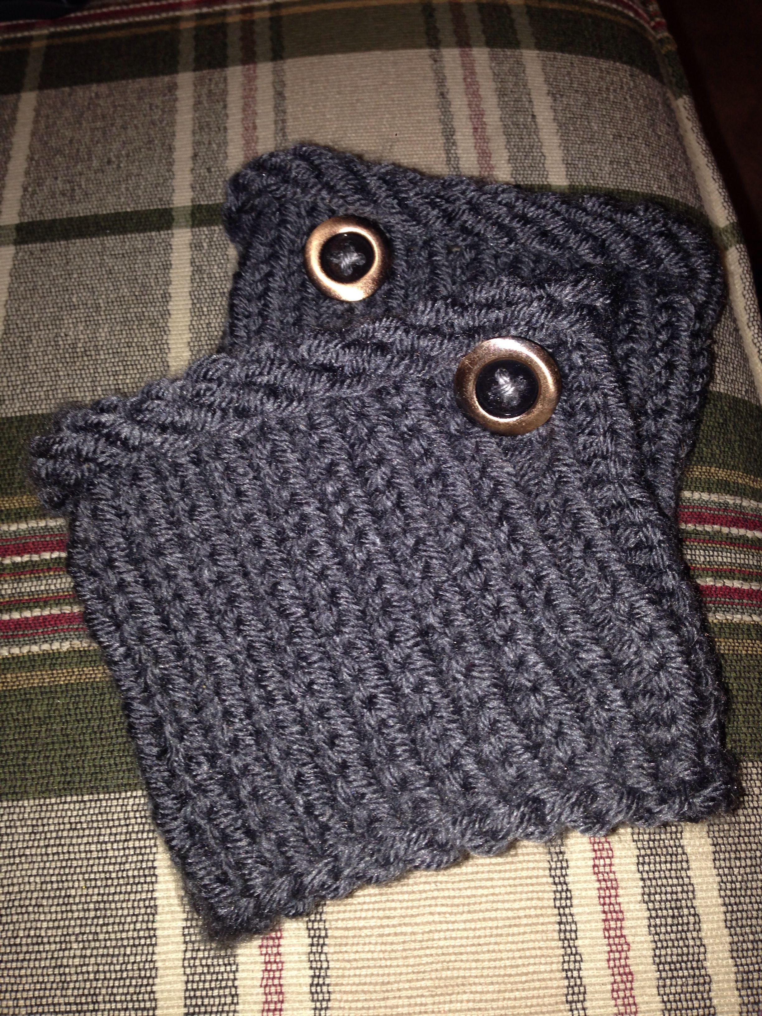 Handmade Boot Cuffs Easy Made On A Round Knitting Loom